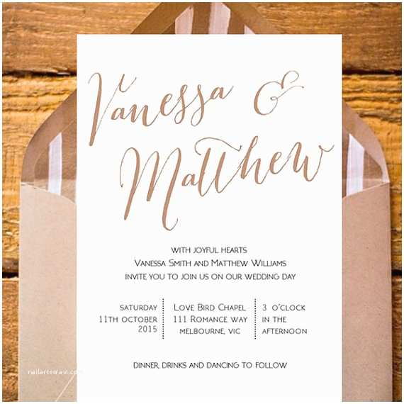 Diy Wedding Invitations and Rsvp Cards Wedding Invitation Pack Diy Printable Rsvp Card Wishi