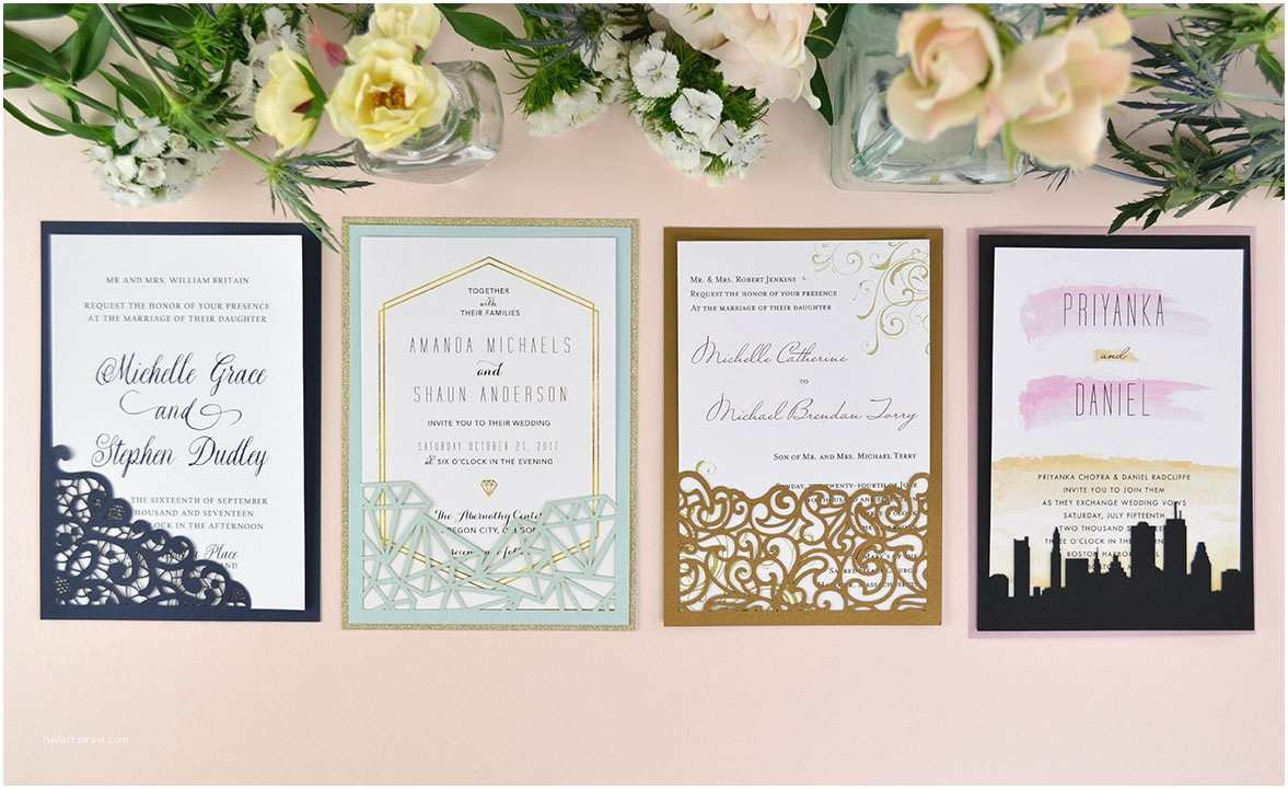 Diy Wedding Invitations How to Diy Laser Wedding Invitations with Slide In Cards