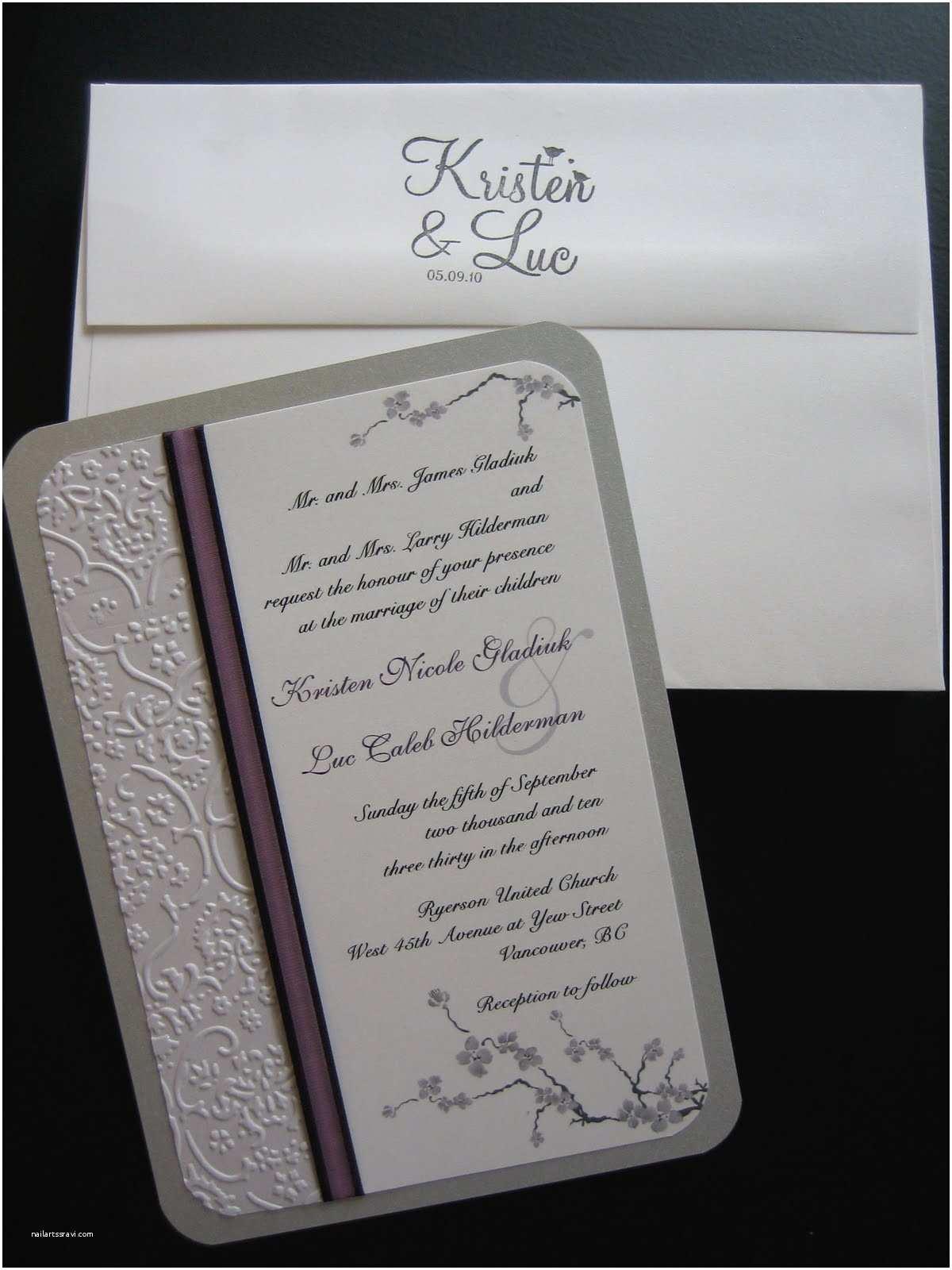 Diy Wedding Invitations Ideas Diy