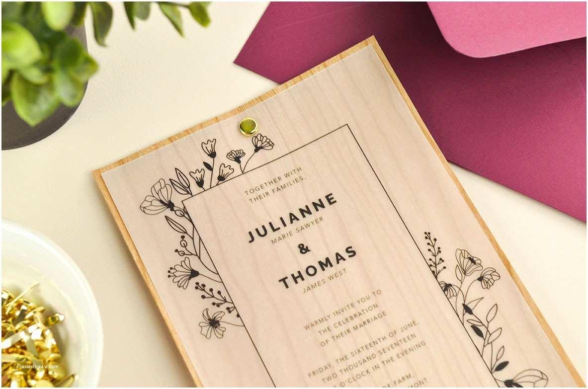 Diy Woodsy Wedding Invitations 4 Ways to Diy Elegant Vellum Wedding Invitations Cards