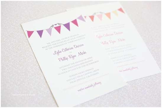 Do It Yourself Wedding Invitations Bunting Do It Yourself Wedding Invitations