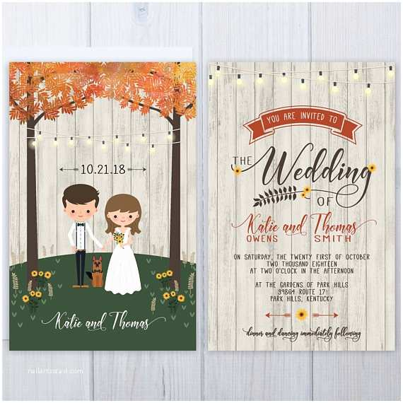 Dog Wedding Invitations 16 Sunflower Wedding Invitations Perfect for Fall Weddings