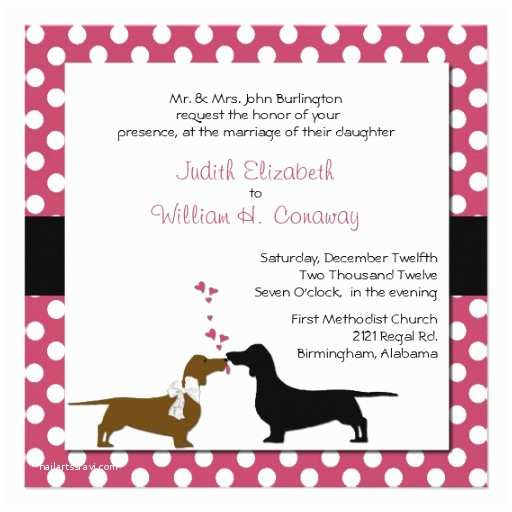 Dog Wedding Invitations 35 Dog Lover Wedding Invitations Dog Lover Wedding