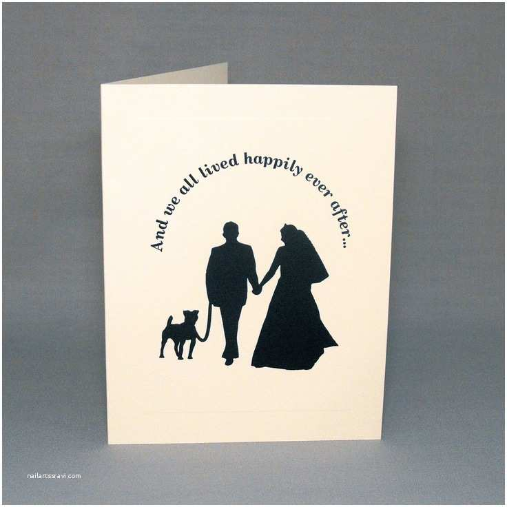 Dog Wedding Invitations Dog Wedding Cards Engagement or Wedding Thank You Cards