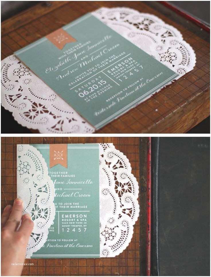 Doily Wedding Invitations 25 Best Ideas About Doily Invitations On Pinterest