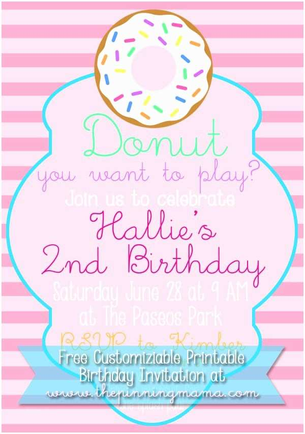 Donut Party Invitations How to Make A Donut Cake for A Donut themed Birthday Party