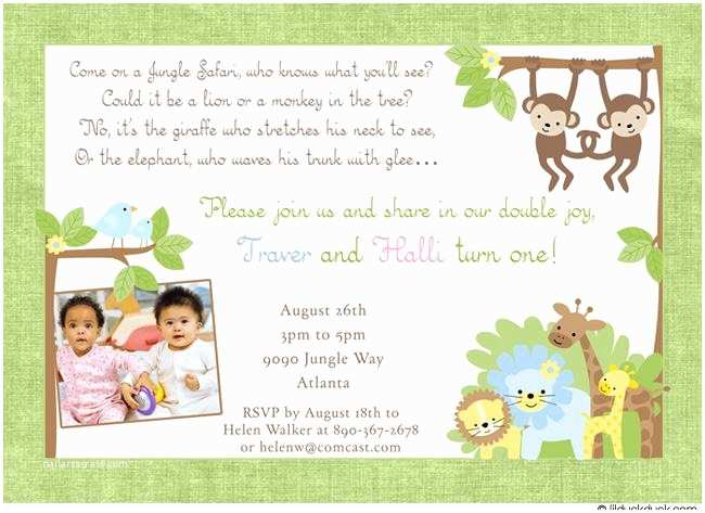 Double Birthday Party Invitations 12 Twin Birthday Invitations Templates – Free Sample