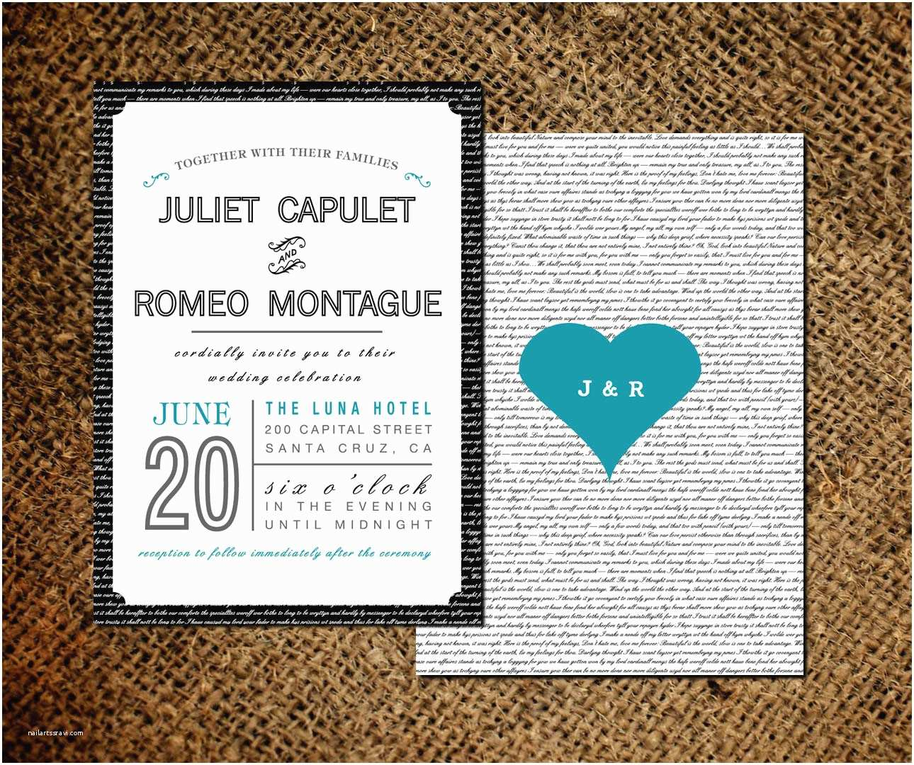 Double Sided Wedding Invitations Classic Wedding Invitations for You