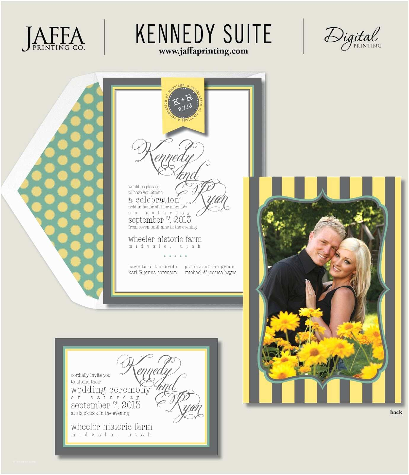 Double Sided Wedding Invitations Wedding Invitation Blog Double Sided Wedding