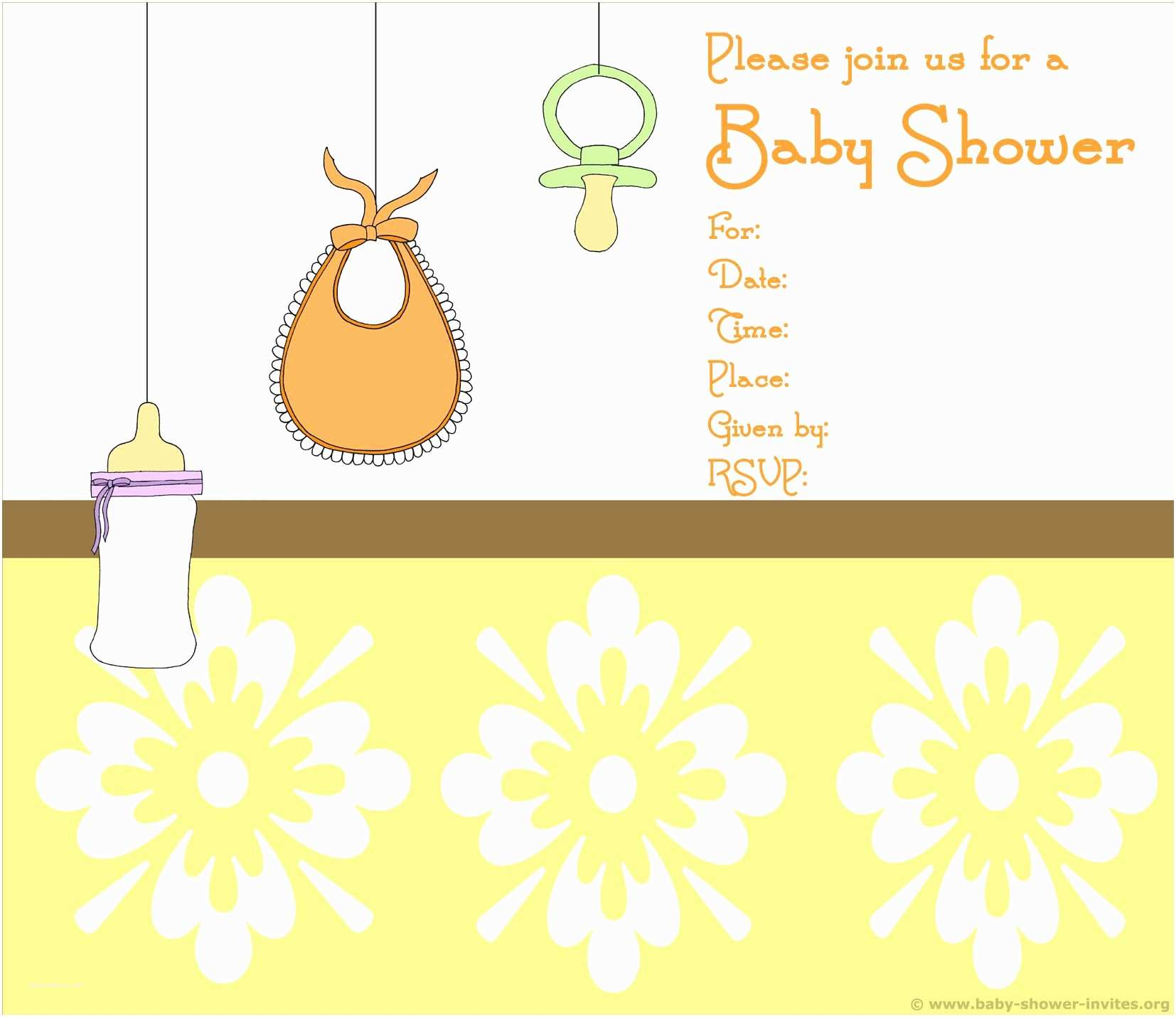 Downloadable Baby Shower Invitations Baby Shower Invitation Borders To Pin