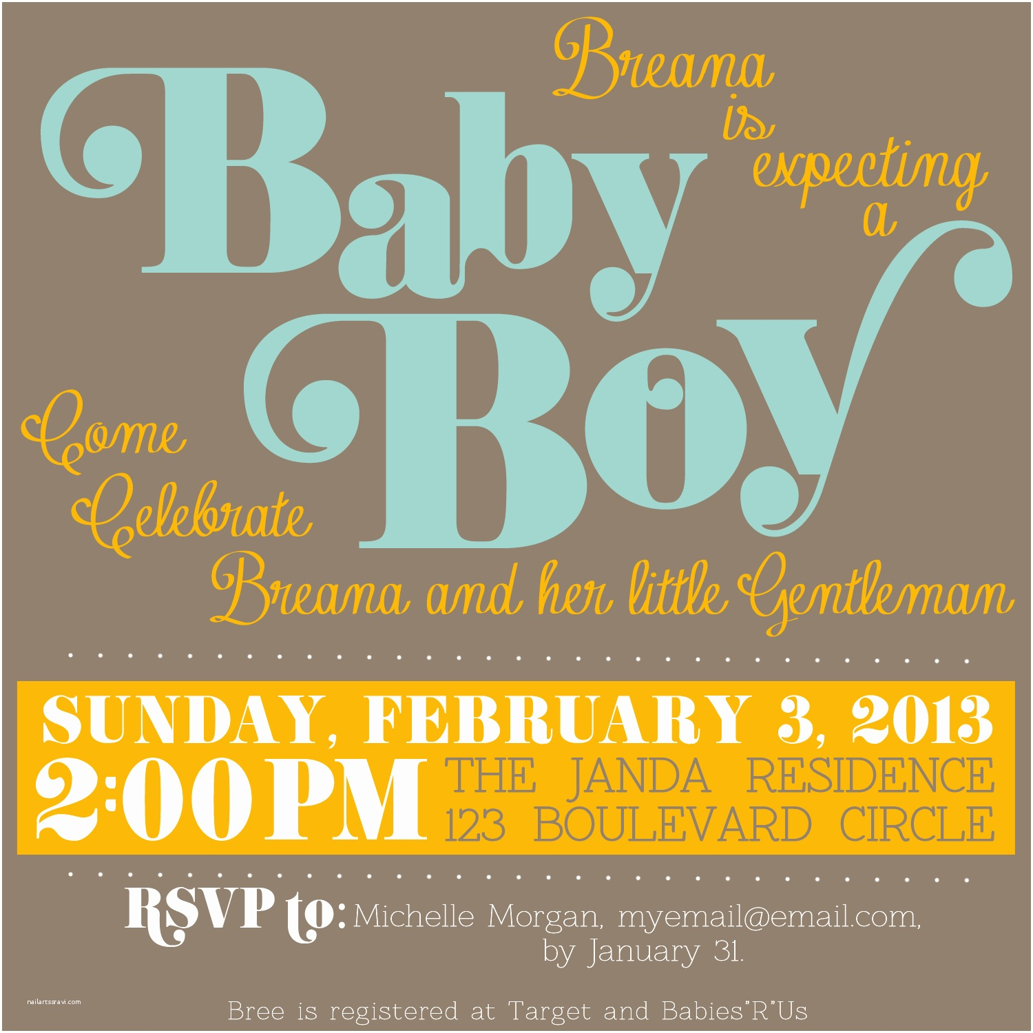 Downloadable Baby Shower  Free Downloadable Baby Shower
