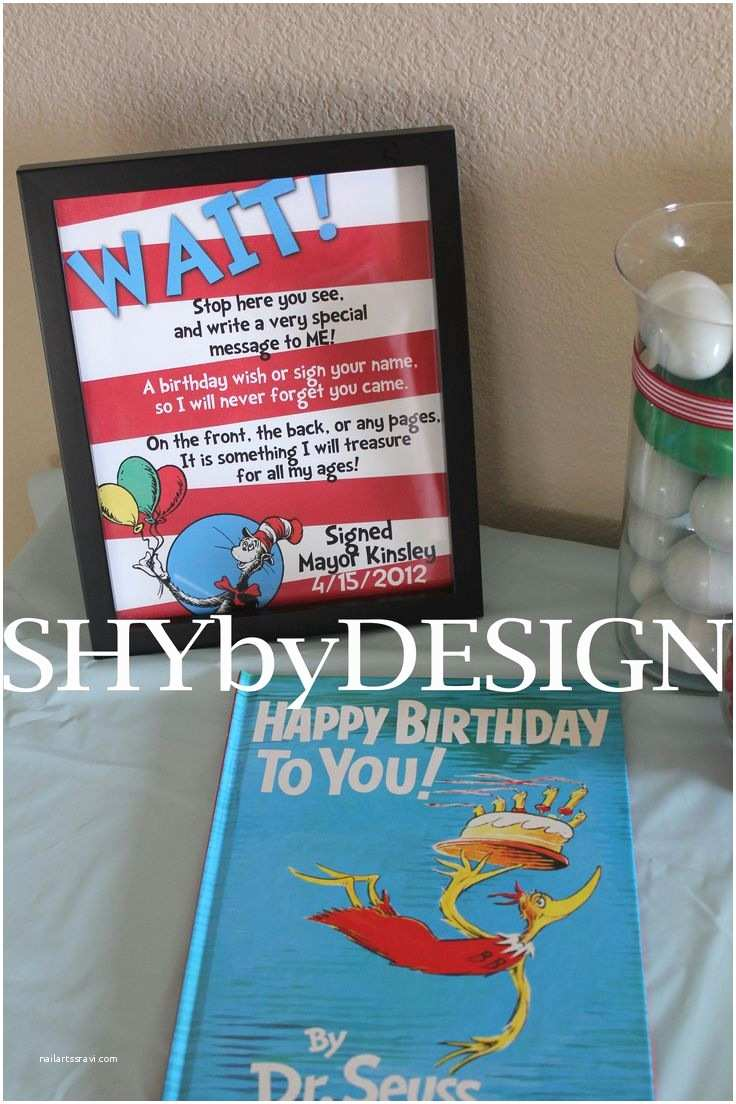 Dr Seuss 1st Birthday Invitations 25 Best Ideas About Dr Seuss Invitations On Pinterest