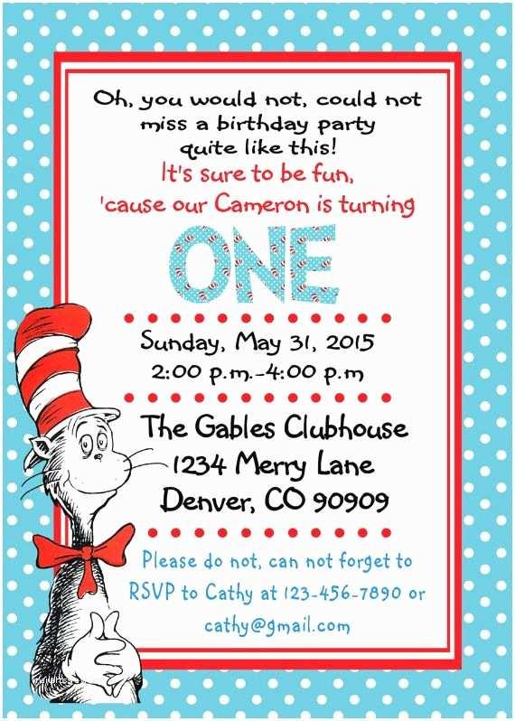 Dr Seuss Party Invitations 277 Best Dr Seuss Party Ideas Images On Pinterest