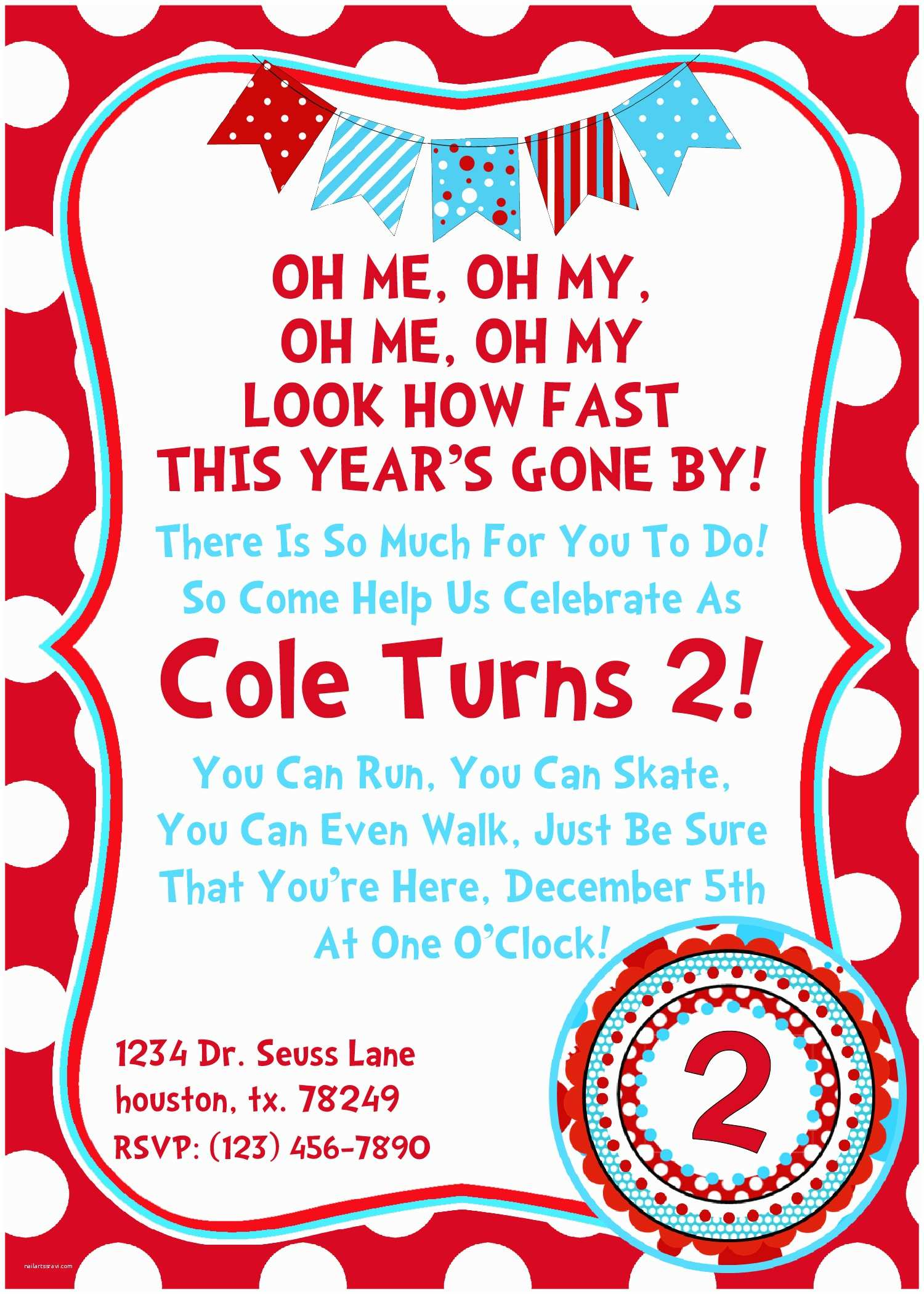 Dr Seuss Party Invitations 7 Best Of Printable Seuss Christmas Invitations