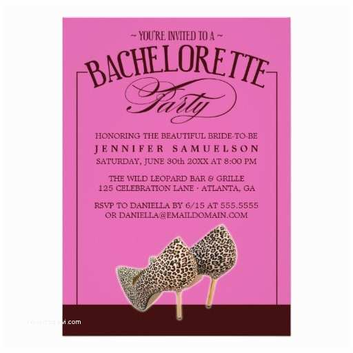 Dress Code Wording for Party Invitations Bachelorette Party Invitations