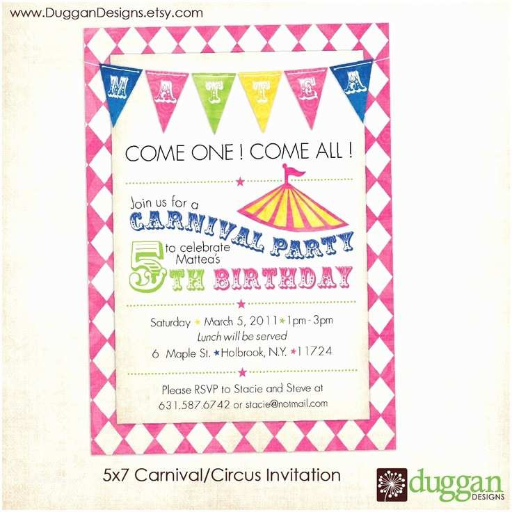 Dress Code Wording For Party Invitations Free Printable Carnival Birthday