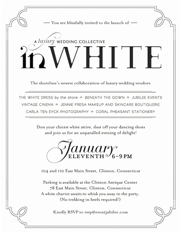 Dress Code Wording for Party Invitations White Party Invitation Wording Unique