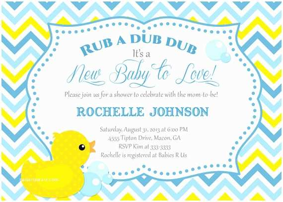 Duck Baby Shower Invitations Baby Shower Duck Invitations