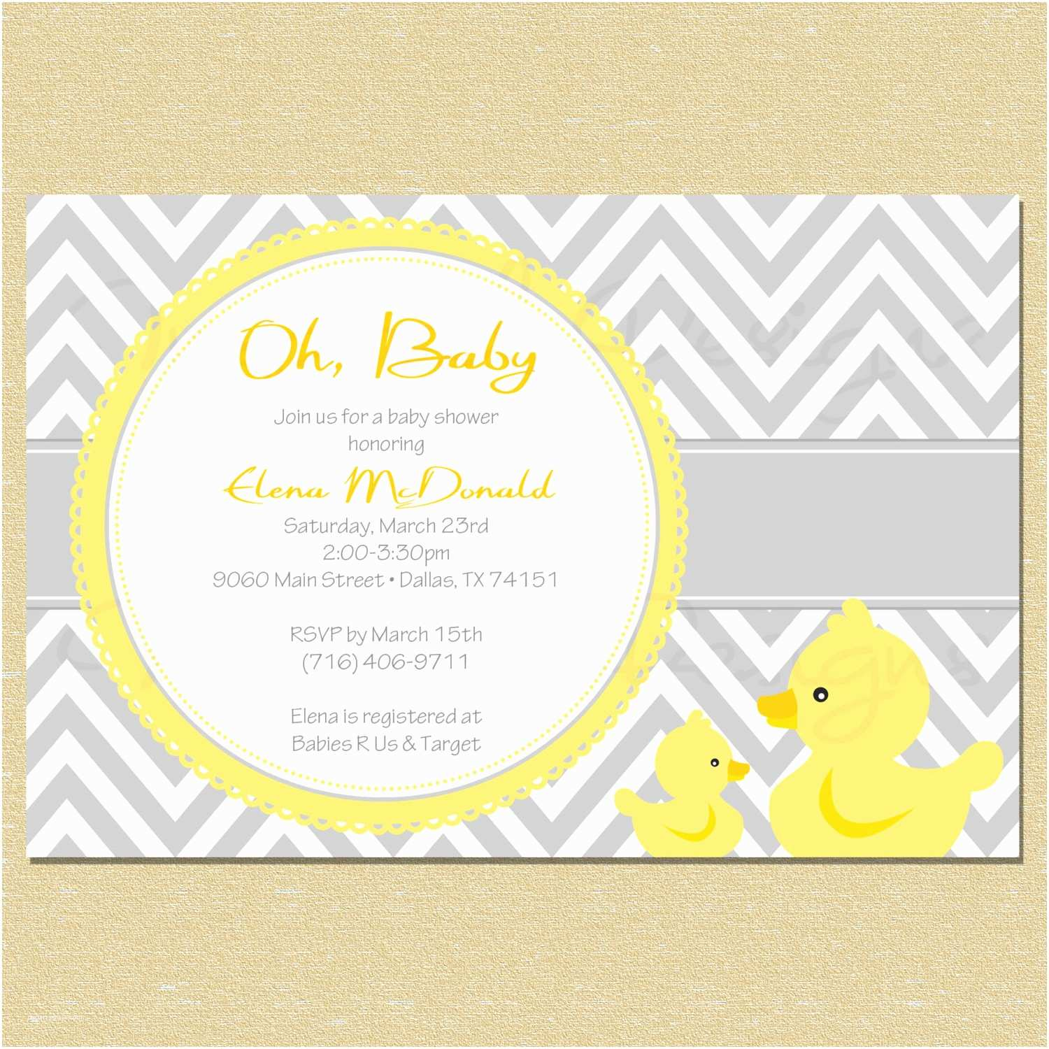 Duck Baby Shower Invitations Duck Baby Shower Party Package Diy by Littlemunchkinprints