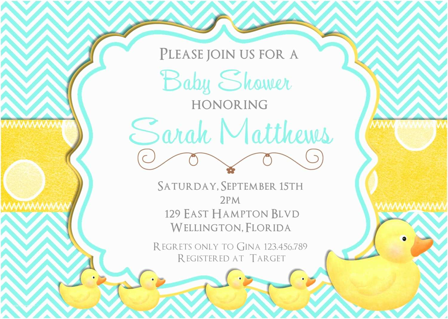 Duck Baby Shower Invitations Free Rubber Ducky Baby Shower Invitations Template