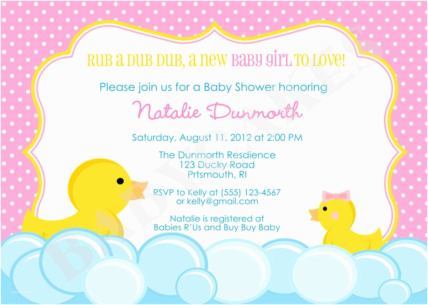 Duck Baby Shower Invitations Rubber Duck Baby Shower Invitation Rubber Duckie Invitation