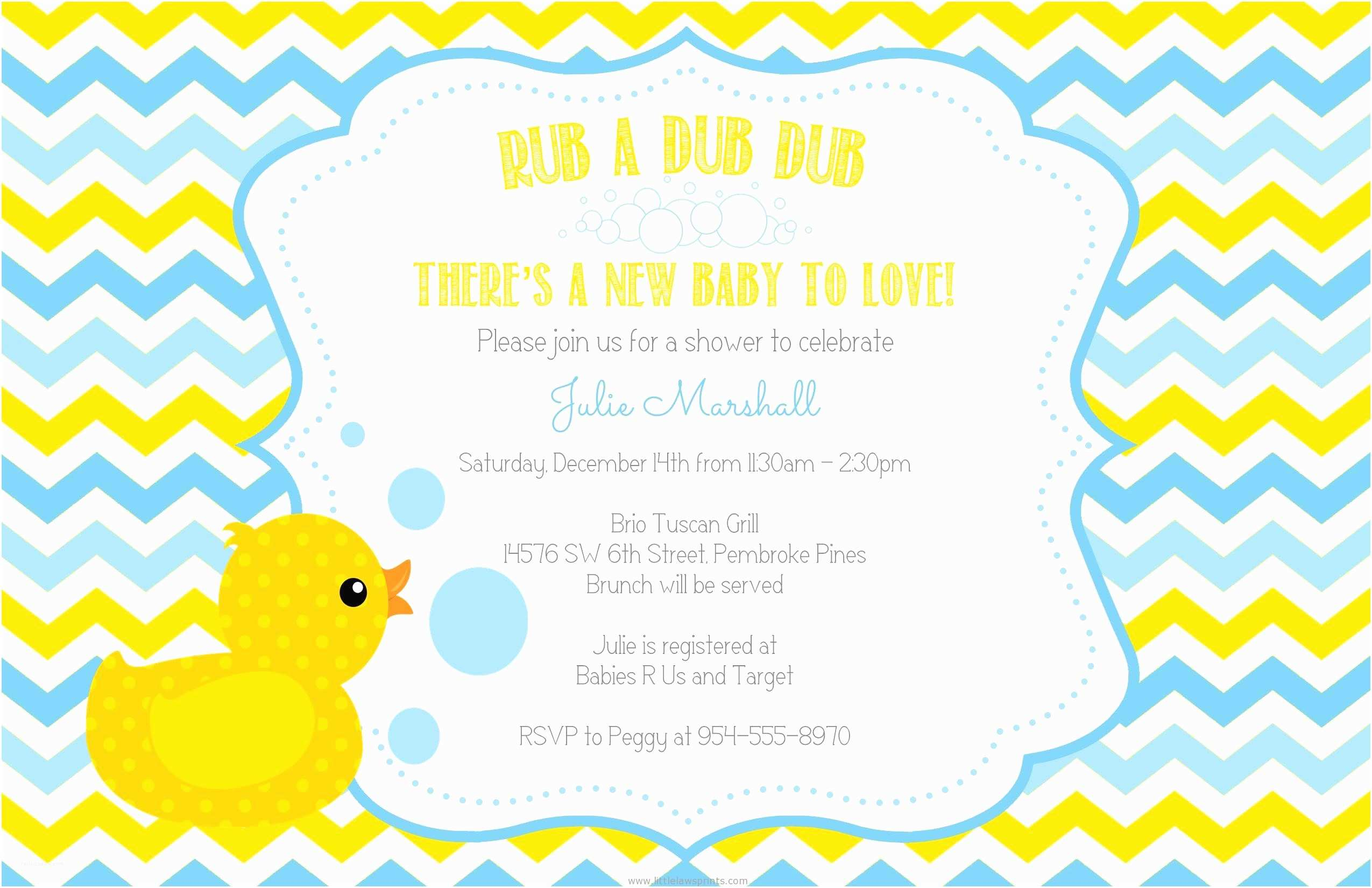 Duck Baby Shower Invitations Rubber Duck Baby Shower Invitations