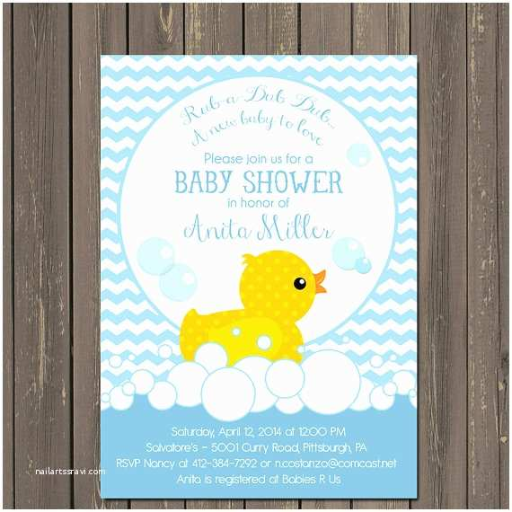 Duck Baby Shower Invitations Rubber Duck Baby Shower Invitations Rubber Ducky Shower