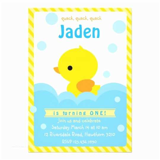 Duck Baby Shower Invitations Rubber Duck Invitation Duck Invitation