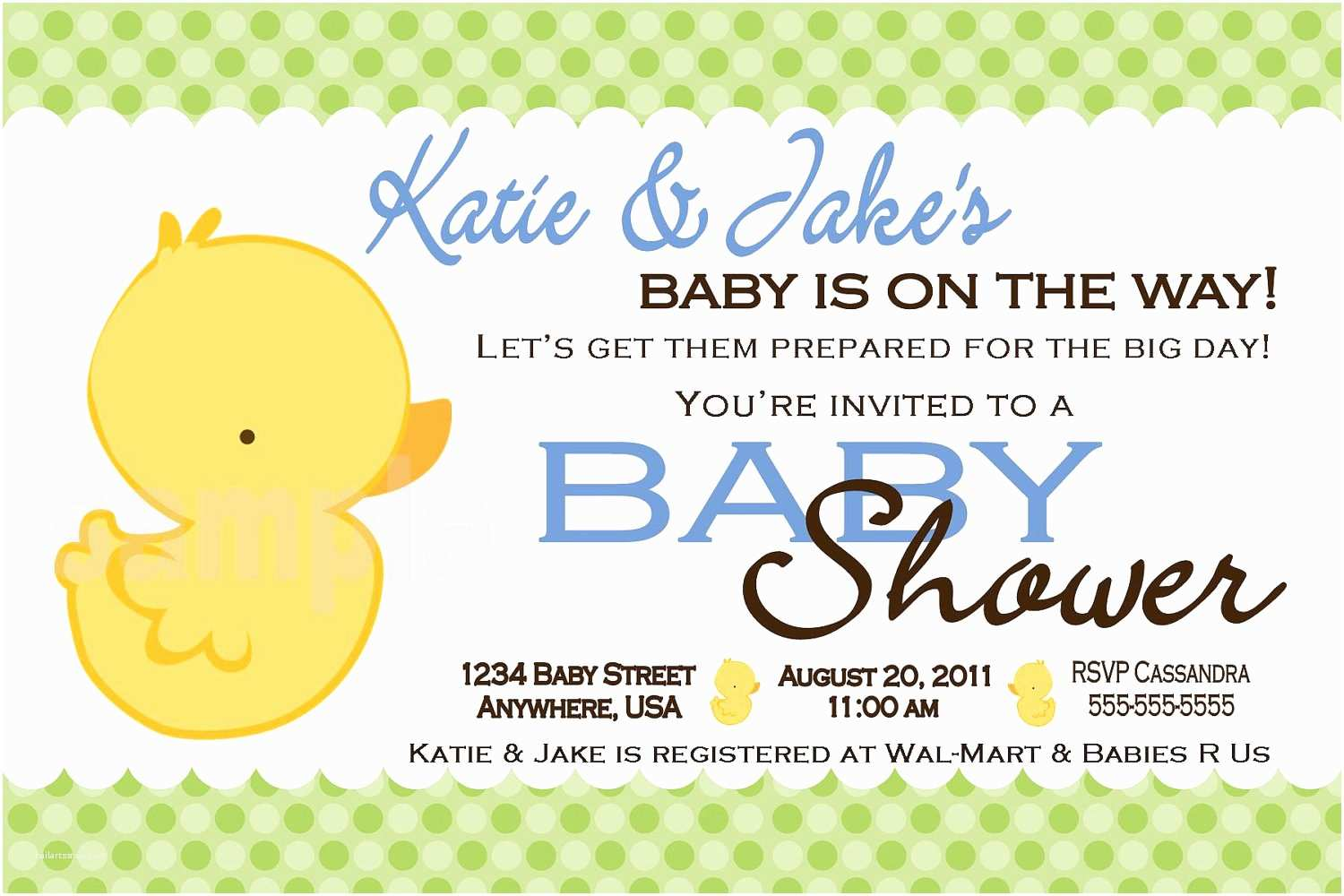 Duck Baby Shower Invitations Unavailable Listing On Etsy