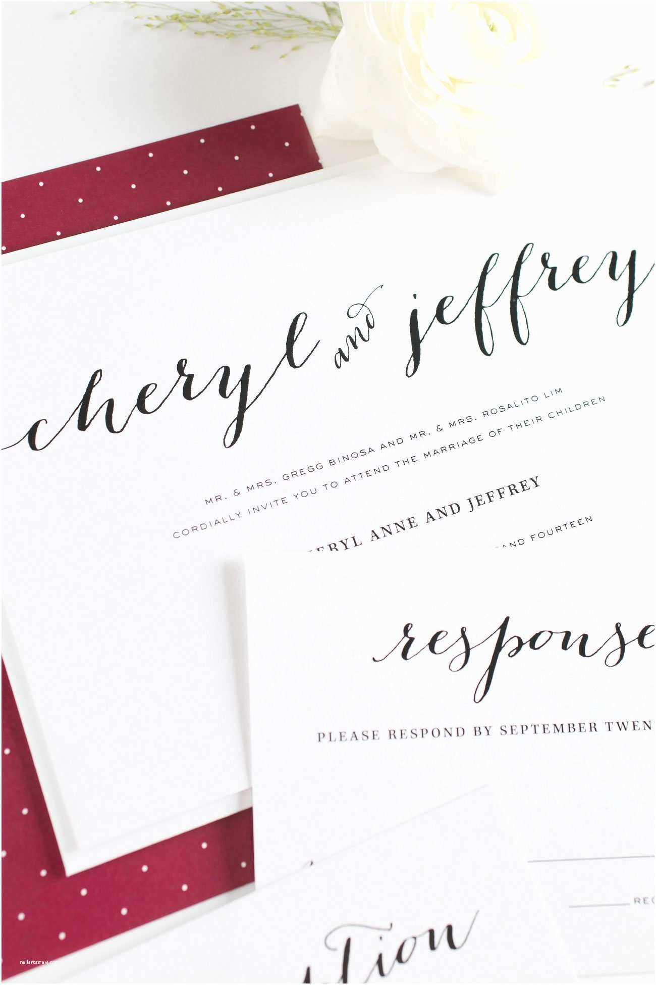 Dusty Blue and Cranberry Wedding Invitations Dusty Blue Cranberry Wedding Inspiration – Wedding