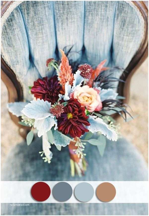 Dusty Blue and Cranberry Wedding Invitations top 10 October Wedding Colors and Wedding Invitations for