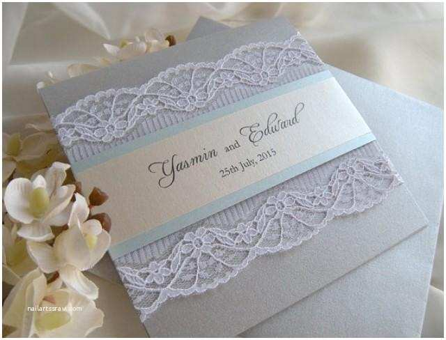 Dusty Blue and Cranberry Wedding Invitations Wedding Invitation Lace Wedding Invitation Grey Wedding