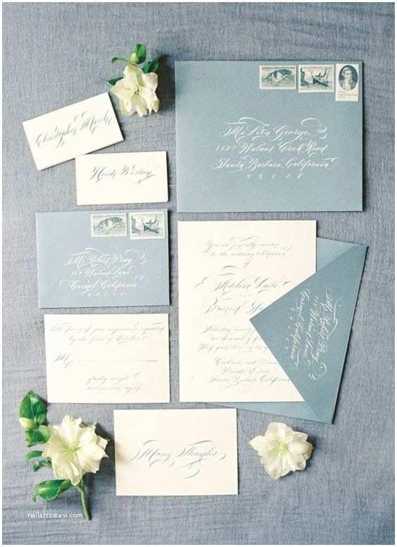 Dusty Blue Wedding Invitations 2018 Wedding Inspiration Dusty Blue Wedding Color Ideas
