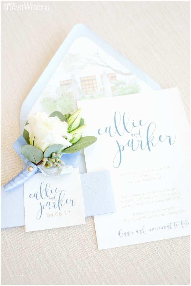 Dusty Blue Wedding Invitations Dusty Blue Wedding Ideas for Spring