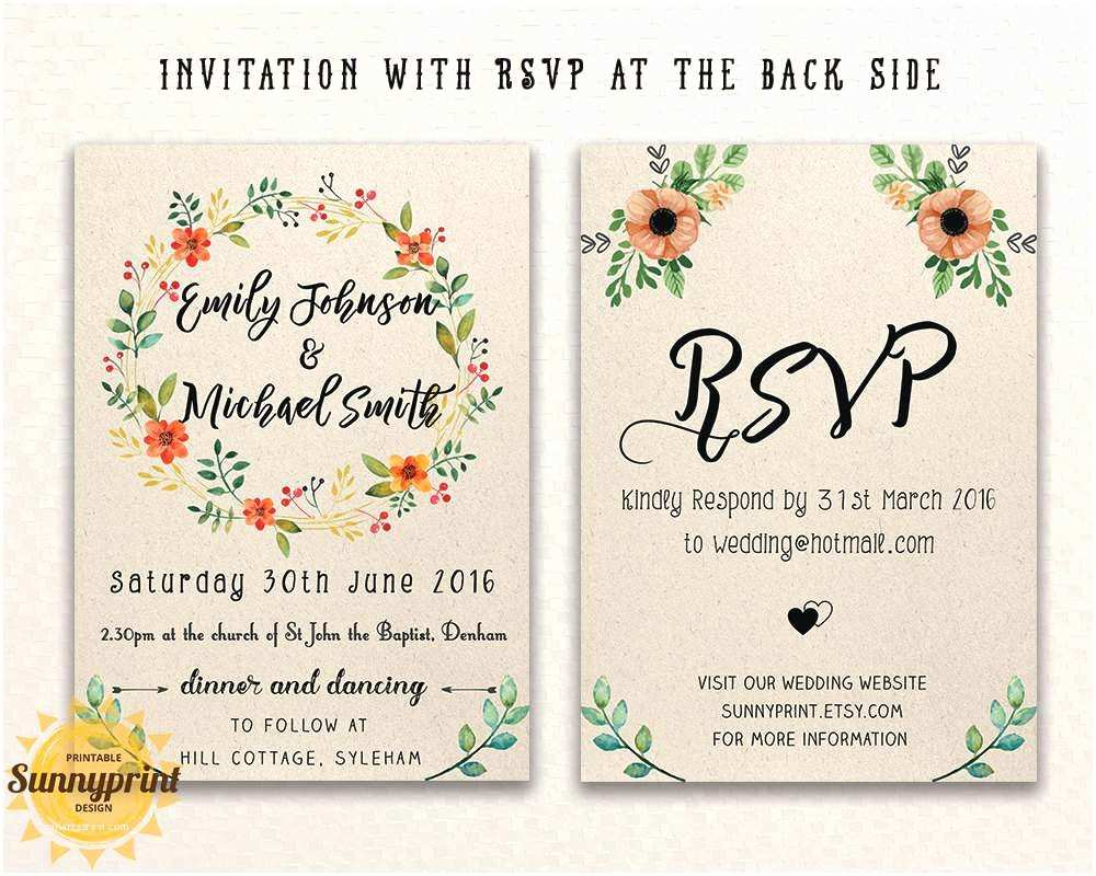 E Wedding Invitation Wedding Invitation Templates Free