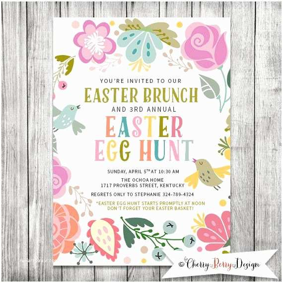 Easter Party Invitations Best 25 Easter Invitations Ideas On Pinterest