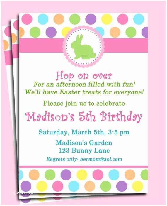 Easter Party Invitations Easter Bunny Invitation Printable Easter Egg Hunt