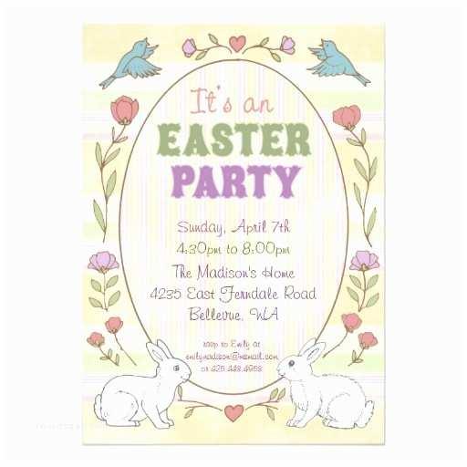 Easter Party Invitations Easter Party Invitation