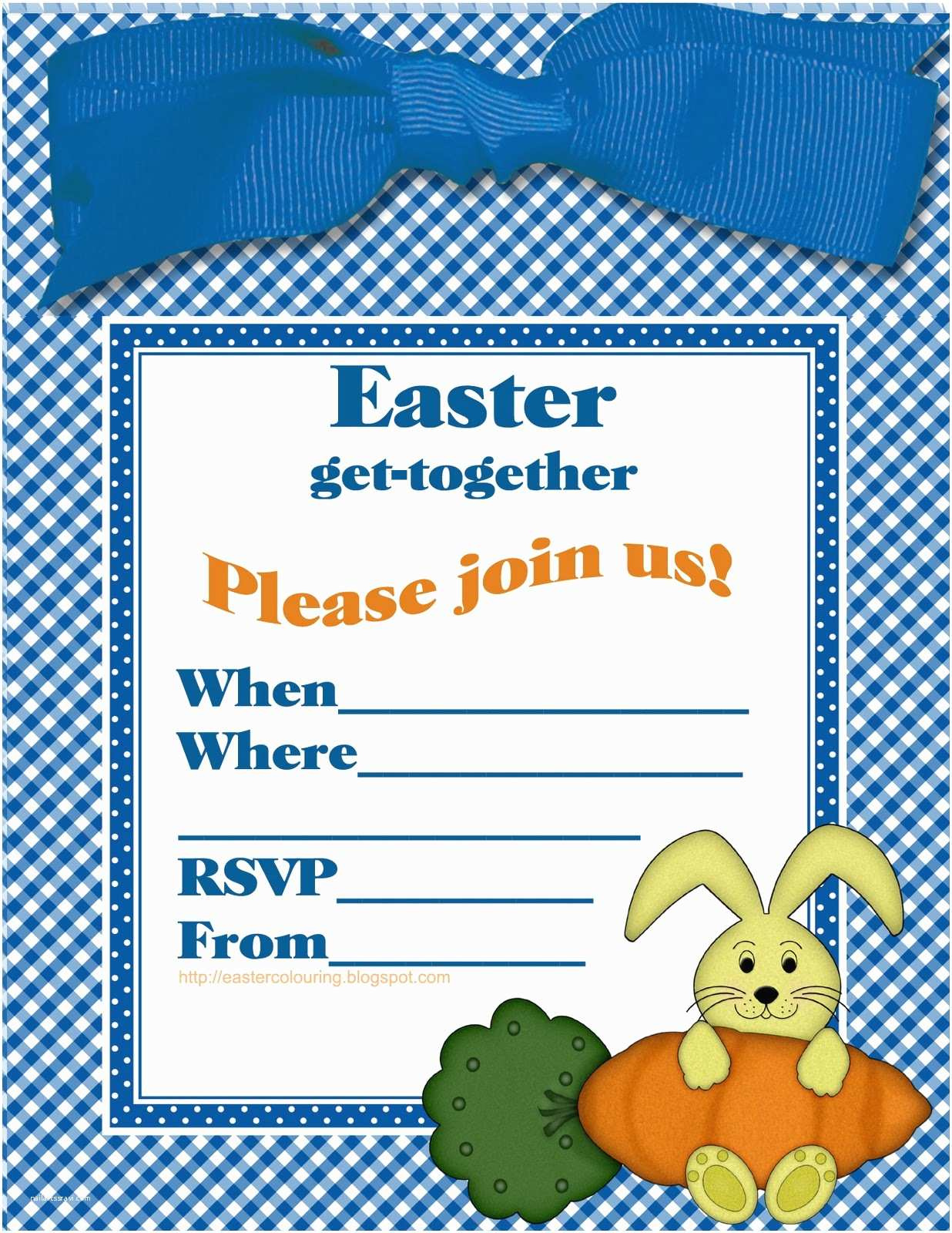 Easter Party Invitations Fill In Frozen Invitation Printable