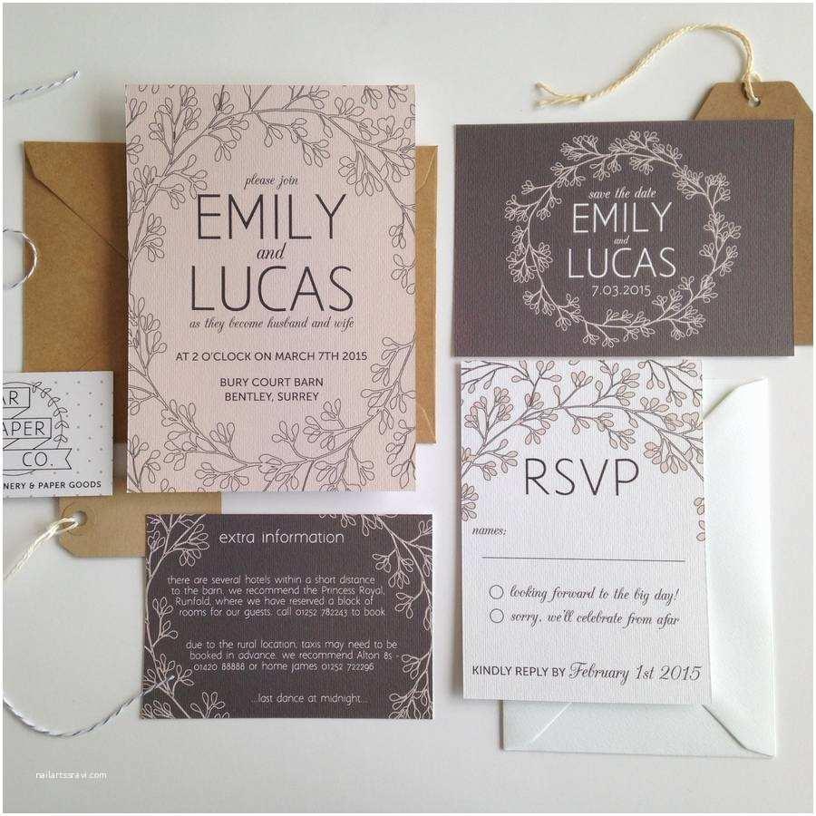 Easy Wedding Invitation Ideas Dreaded Garden Wedding Invitations