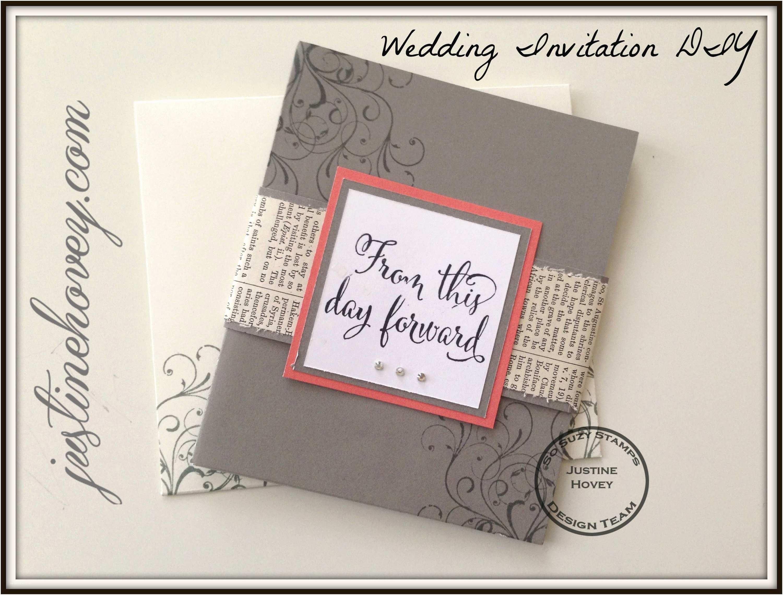 Easy Wedding Invitation Ideas Homemade Wedding Invitation Ideas