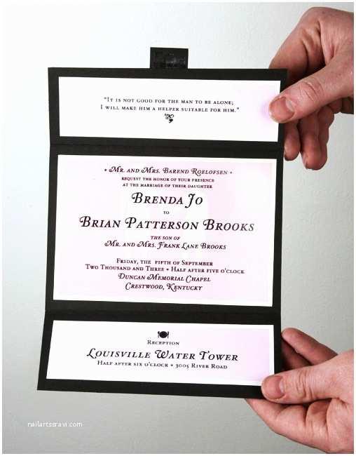 Easy Wedding Invitation Ideas Simple Wedding Invitation Ideascherry Marry