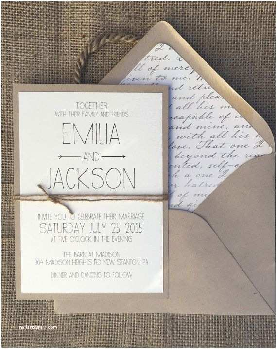 Easy Wedding Invitation Ideas Simple Wedding Invitations Best Photos Page 2 Of 4