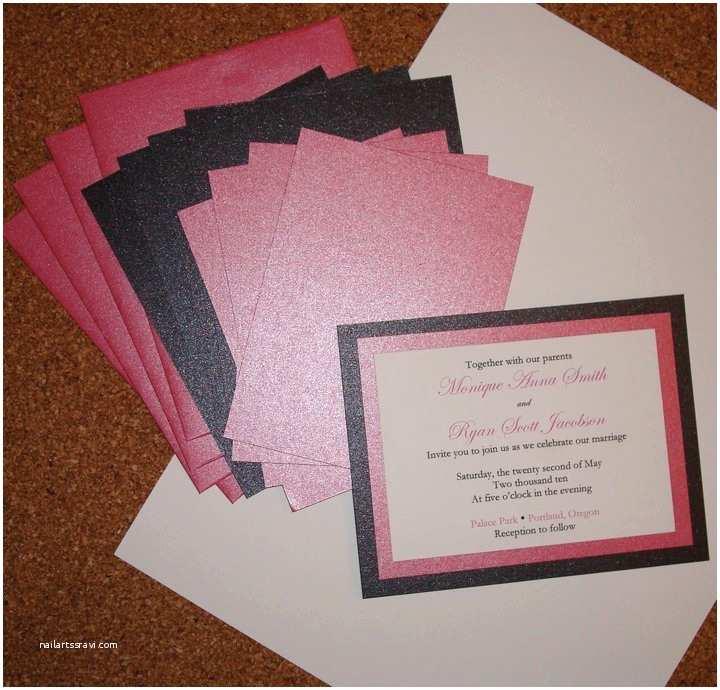 Easy Wedding Invitation Ideas the Advantages Of Do It Yourself Wedding Invitations