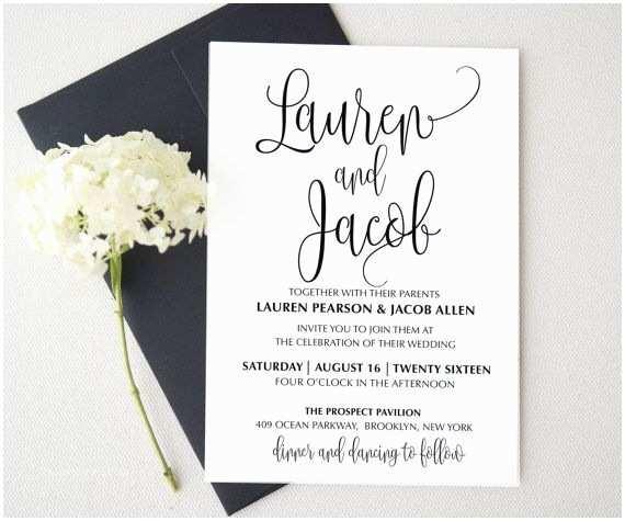 Easy Wedding Invitation Ideas Wedding Invitation Google Search