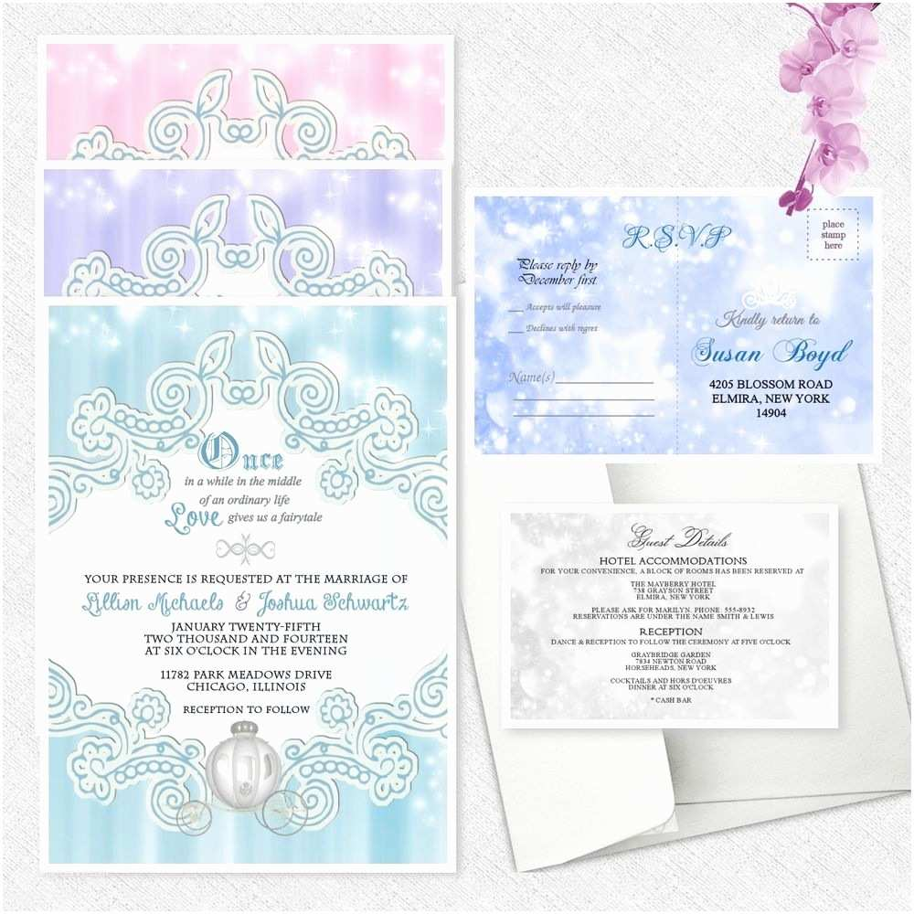 Ebay Wedding Invitations Fairytale Wedding Invitations Bridal Shower Pumpkin