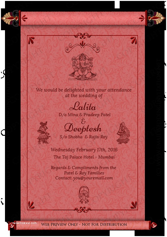 Ecards For Wedding Invitation Indian Indian Wedding Invitation
