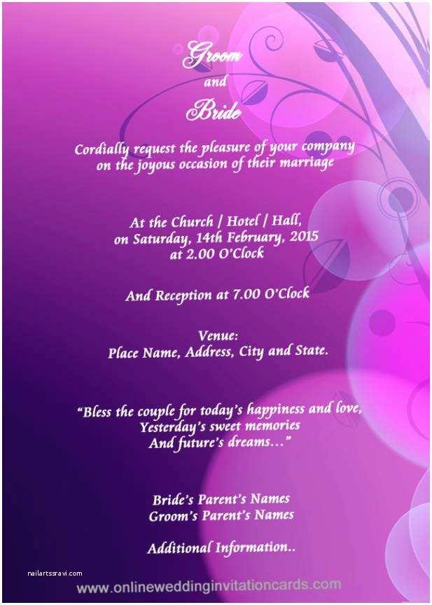 Editable Indian Wedding Invitation Templates Free Download Editable Invitation Cards Free Download