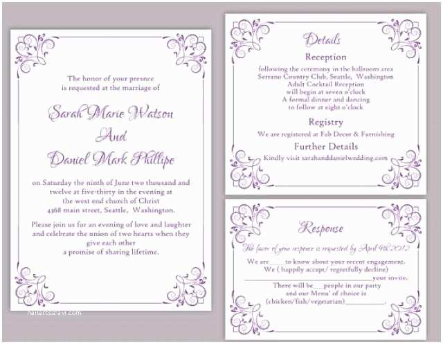 Editable Wedding Invitation Cards Free Download Editable Wedding Invitation Free Download Yaseen