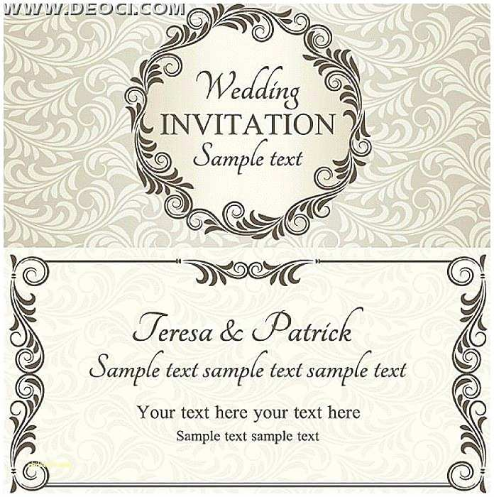 Editable Wedding Invitation Cards Free Download Engagement Invitation Template Free –